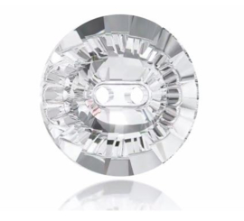 Knoop Swarovski 12mm. Crystal