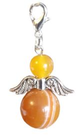 Agaat , Orange  Silverwing