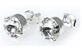 Oorsteker Swarovski Crystal
