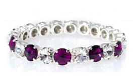 Angel bracelet Crystal / Amethyst