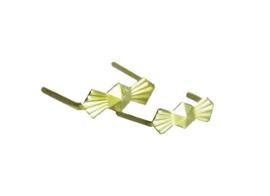 Messing clip 8 mm per 50 stuks
