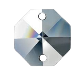 Octagon 14 mm ( kristal 24% Pbo )