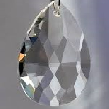 Amandel ( glas ) 28 mm