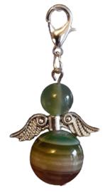 Agaat , Groen  Silverwing