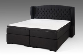 BOXSPRINGSET CAPITON DELUXE