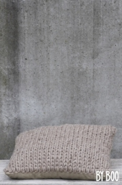 PILOW WOOL SMALL BEIGE