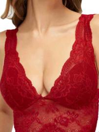 Flirt Bralette lace Red