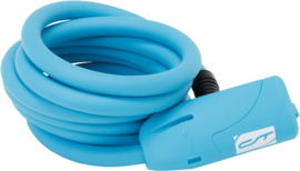 Spiraalkabelslot Contec Neoloc blauw