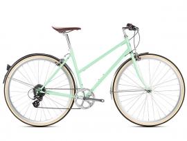 6ku Odessa voor vrouwen met 8 vitessen Munt green