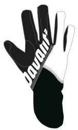 Davanti handschoen White