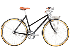 BLB Butterfly - 3 SPD - Town bike - Black