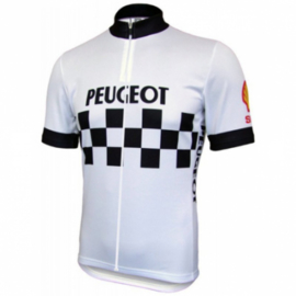 Retro wielershirt Peugeot
