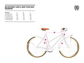 BLB Butterfly - 8 SPD - Town bike - Chrome