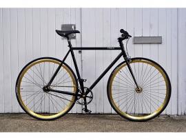 BLB Handbuild bike Zwart