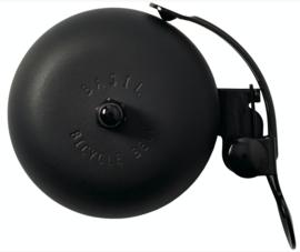 Fietsbel basil Portland mat black