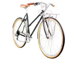 BLB Butterfly - 8 SPD - Town bike - Black