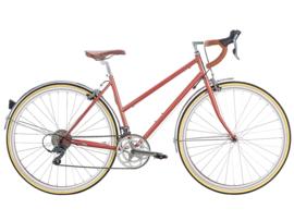 6ku Helen city bike Rode Gold met 16 vitessen