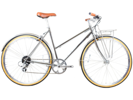 BLB Butterfly - 8 SPD - Town bike - Chrome