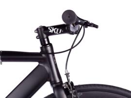 6ku SInglespeed Track & fixie bike Zwart