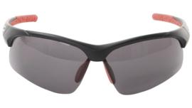 Contec sportbril 3DIM zwart/rood