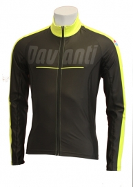 Davanti Fietsshirt Sven Black/yellow