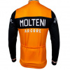 Retro wielershirt Molteni oranje