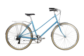 BLB Lola ladies bike - 8 speed - MALIBU BLUE