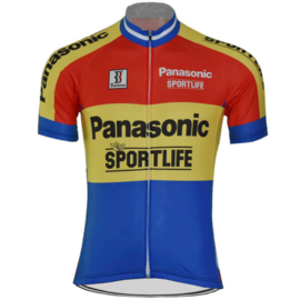 Panasonic Sportlife retro wielershirt
