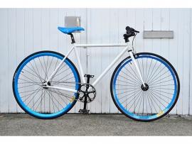 BLB fiets Handbuild custombike Wit