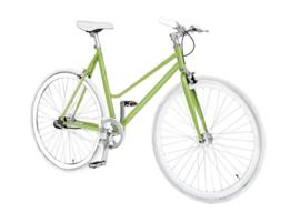 Pepita woman custombuild bike Groen - 3 vitessen