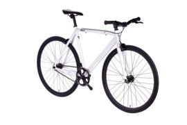 6ku SInglespeed Track & fixie bike White