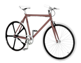 Pepita custombuild bike Chocolade Bruin