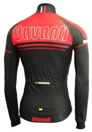 Davanti Fietsshirt Aldo Black/Red