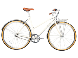 BLB Butterfly - 3 SPD - Town bike - Natural beige