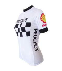 Dames Peugeot retro wielershirt