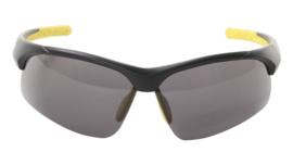 Contec sportbril 3DIM zwart/geel