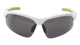 Contec sportbril 3DIM wit/groen