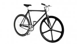 Pepita custombuild bike Zwart