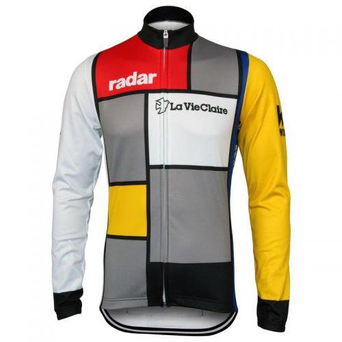 Retro wielershirt La Vie Claire