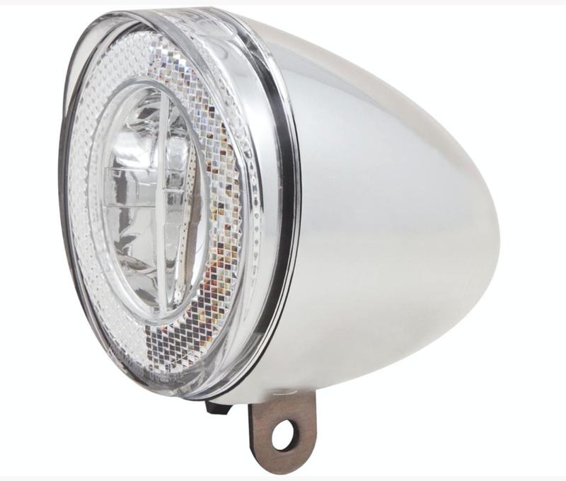 Spanninga koplamp chroom