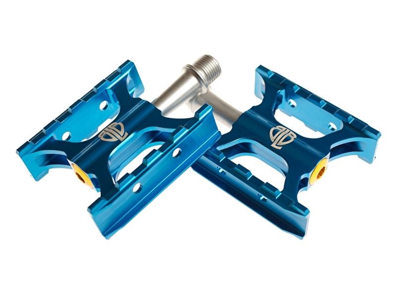 Track pedalen Blauw