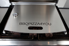 Gas BBQ Pizzaoven Set  Aluminium