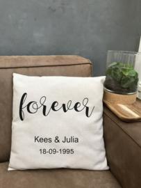 Kussen 'Forever'