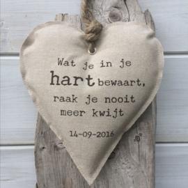 Hart 'Wat je in je hart bewaart'