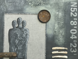 Schilderij 'Three'