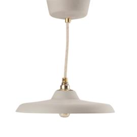 Platte hanglamp | Grijs