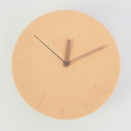 Klok groot - Oranje