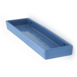 Wandplank XL | Kobalt