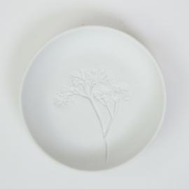 Plantenbord S - Wit 01