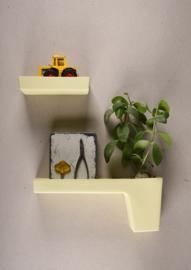 Wandplank XL | Geel